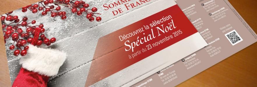 photo  Sommellerie de France   conception de dépliant