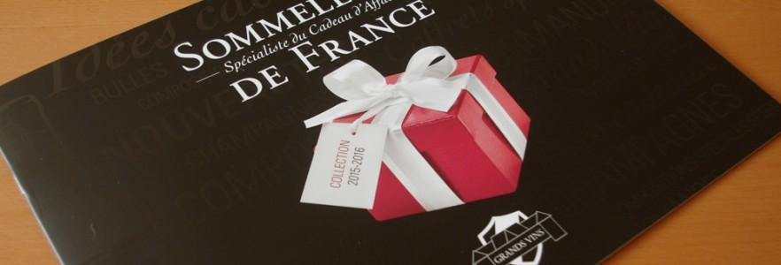 photo  Sommellerie de France   conception de brochure