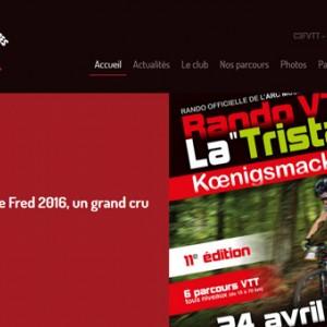 photo  C3FVTT   création du nouveau site internet pour le club Canner 3 Frontières VTT