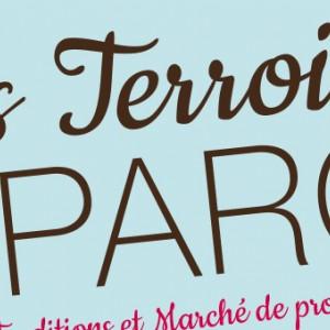 """photo  Affiche """"Les Terroirs du Parc""""   conception et mise en page d'une biographie numérique"""