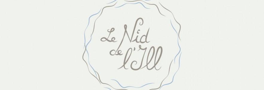 photo  Le Nid de L'Ill   Conception de logotype pour une location immobilière à Strasbourg