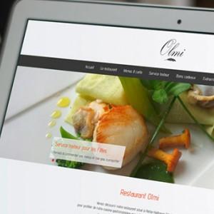 photo  Restaurant Olmi   conception nouveau site internet
