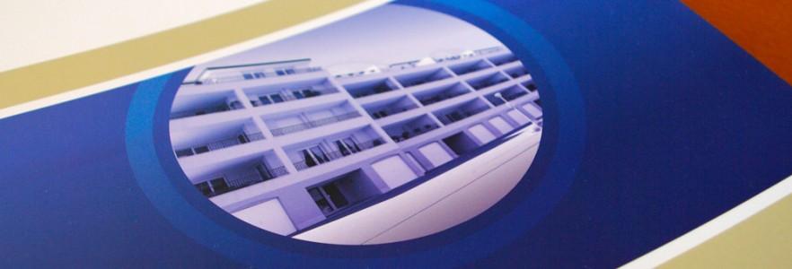 photo  Agence Immobilière Métropole   conception de papiers d'affaire